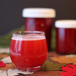 Cran-Raspberry Sauce with Spiced Rum