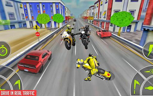 Crazy Bike attack Racing New: motorcycle racing  screenshots 16