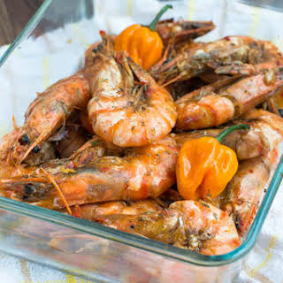 Jamaican Hot Pepper Shrimp.