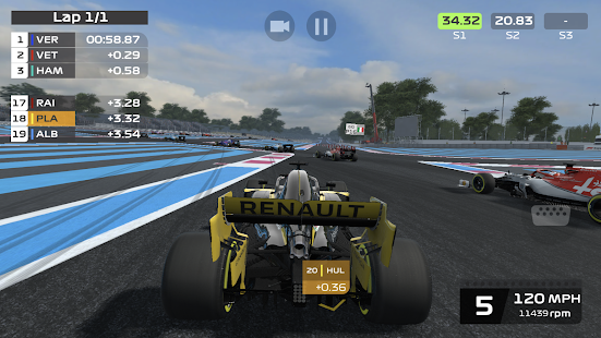 F1 Mobile Racing Screenshot