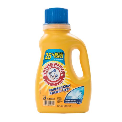 detergente liquido arm & hammer estallido de limpieza 1.47 l