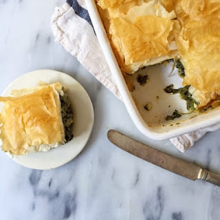 SAVORY SPINACH AND FETA PIE