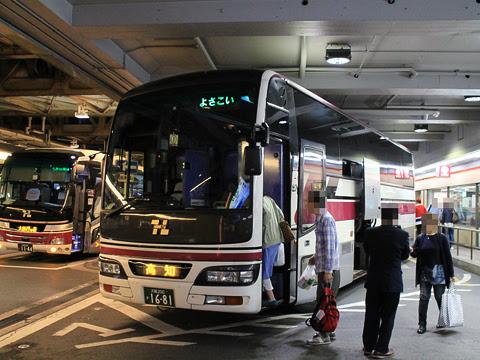 阪急バス「よさこい号」 2891 大阪阪急梅田改札中