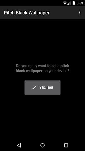 Pitch Black Wallpaper 3.1.0.1 screenshots 1