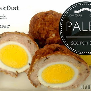 Paleo Scotch Eggs.