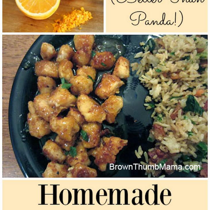Better-Than-Panda Homemade Orange Chicken Recipe