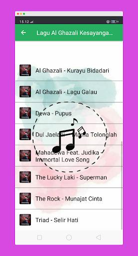 Lagu Kesayanganku Al Ghazali Ost Samudra Cinta ss3