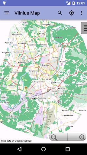 Vilnius Offline City Map