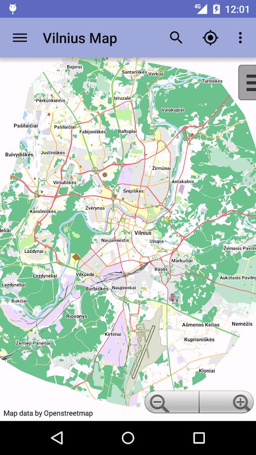 Vilnius Offline City Map Android Apps On Google Play - Vilnius map
