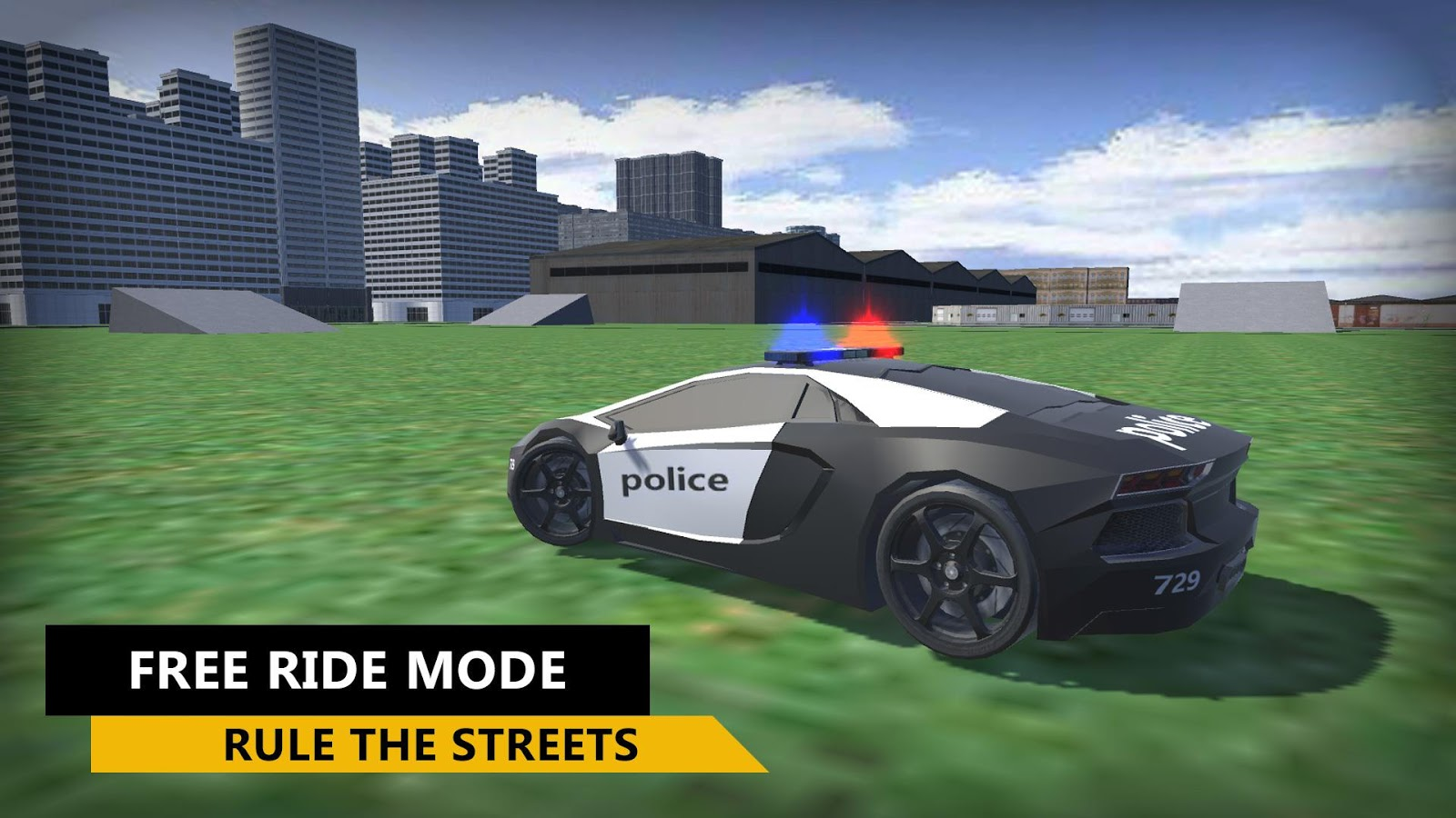 3D Police Car Simulator 2016- screenshot