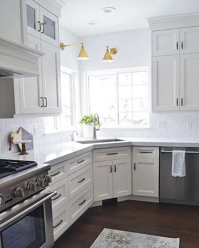 9 clever corner kitchen sink ideas to