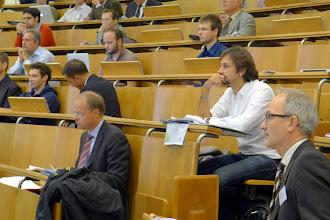 Photo: prof. Franz Schweitzer, on the right