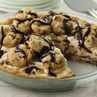 Chocolate Chip Cookie Ice Cream Pie.