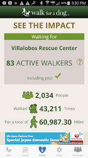 Walk for a Dog: Walking for Animal Shelter Support- screenshot thumbnail