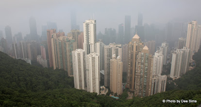 Photo: Day 194 - The View from Victoria Peak on HK Island