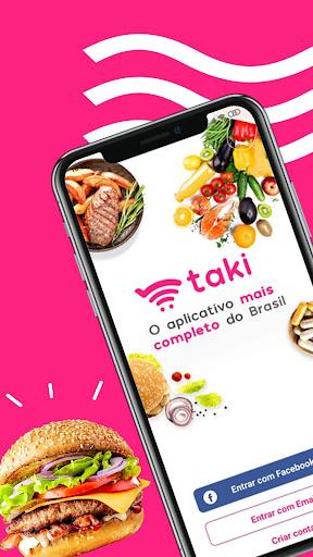 Taki - seu aplicativo de compras. ss1