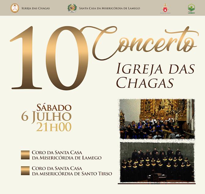Misericórdia de Lamego apresenta no sábado 10º concerto na Igreja das Chagas
