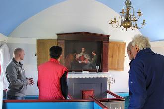 Photo: het schilderij van Bjarnarhofn