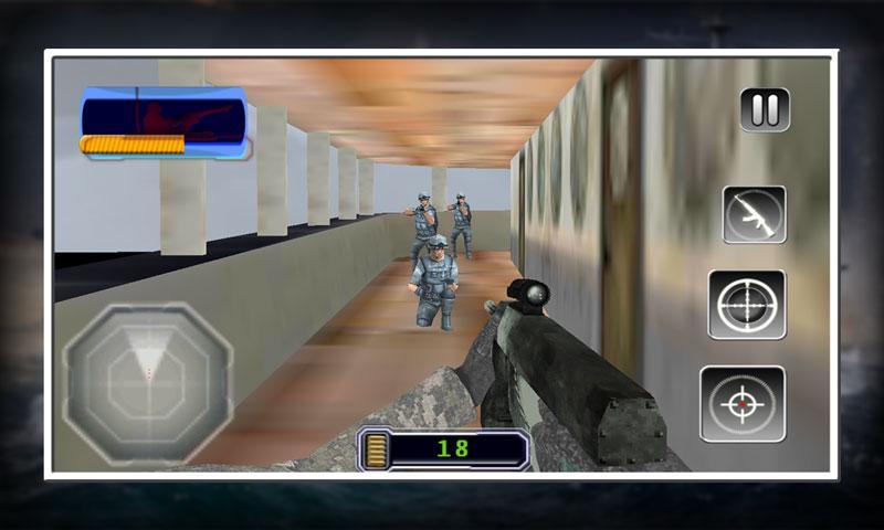 android Sniper X Marine Blitz Screenshot 6