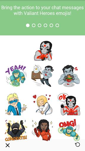 Valiant Heroes Emoji