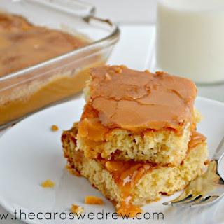 Carmel Apple Dump Cake.