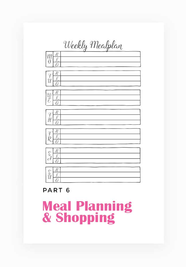 Meal Planning & Shopping by Wundertastisch