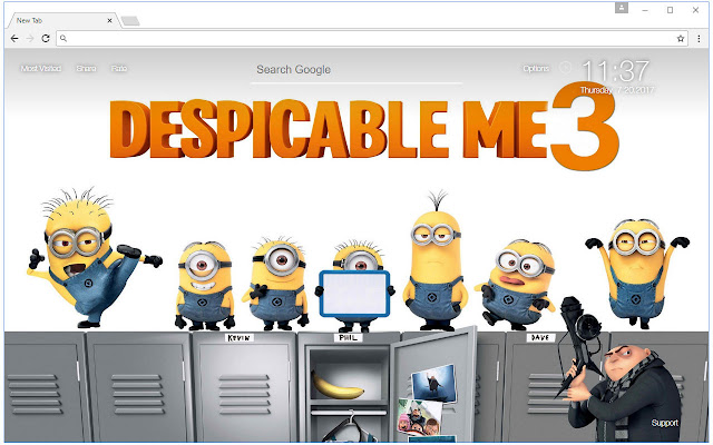 Despicable Me 3 Wallpaper HD New Tab Themes