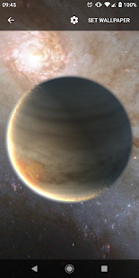 Planets Live Wallpaper Plus Screenshot