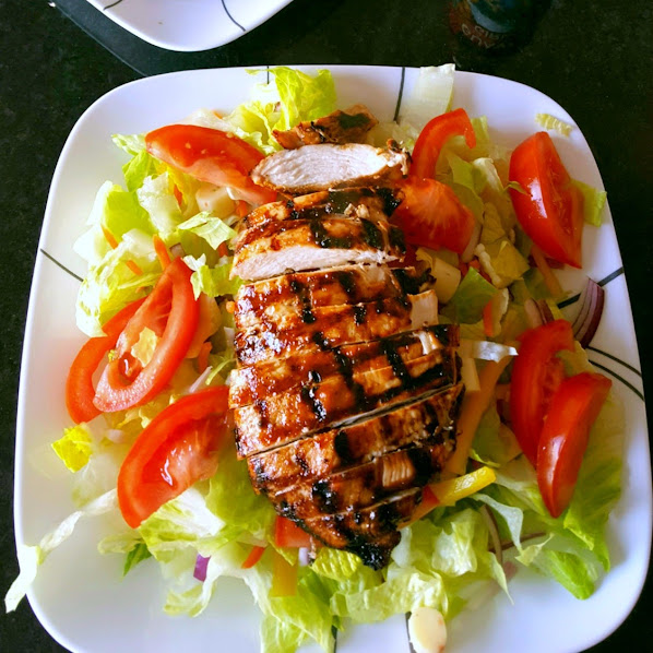 Guava Grilled Chicken Chipotle Salad