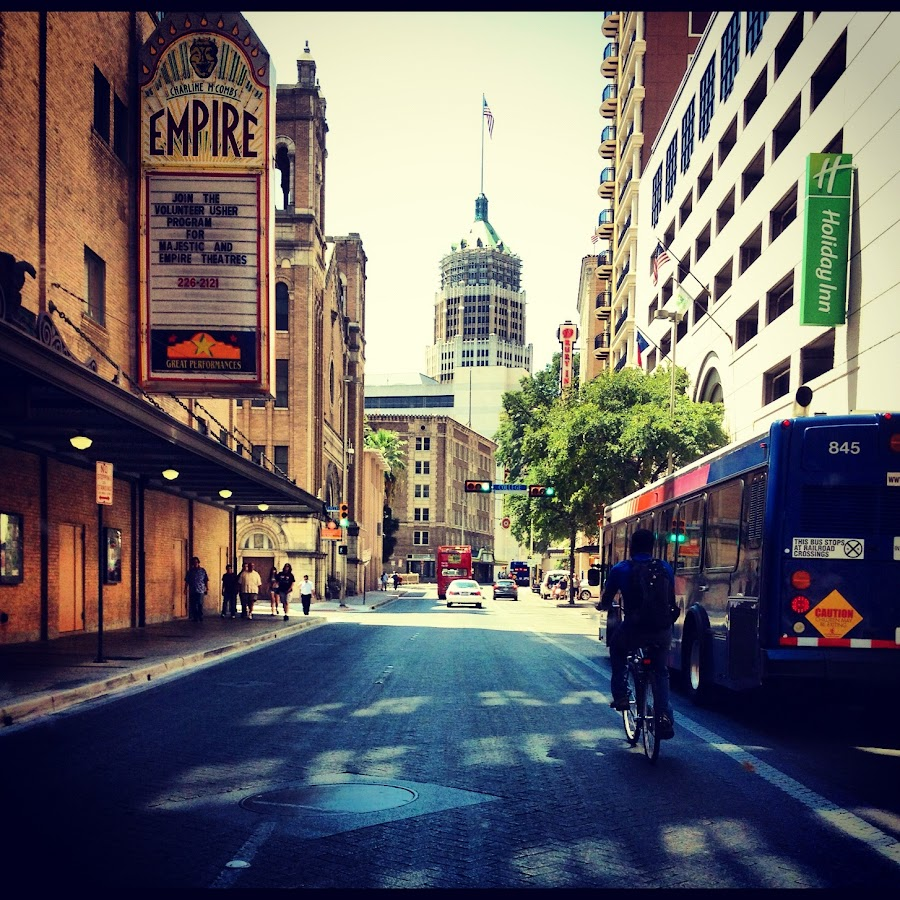 Downtown San Antonio, TX by Roxana McRoberts - Instagram & Mobile iPhone