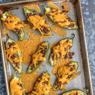 Cheeseburger Stuffed Jalapeno Poppers Recipe