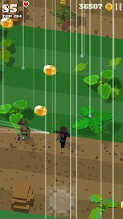 Jurassic Hopper 2: Crossy Dino World Shooter Screenshot