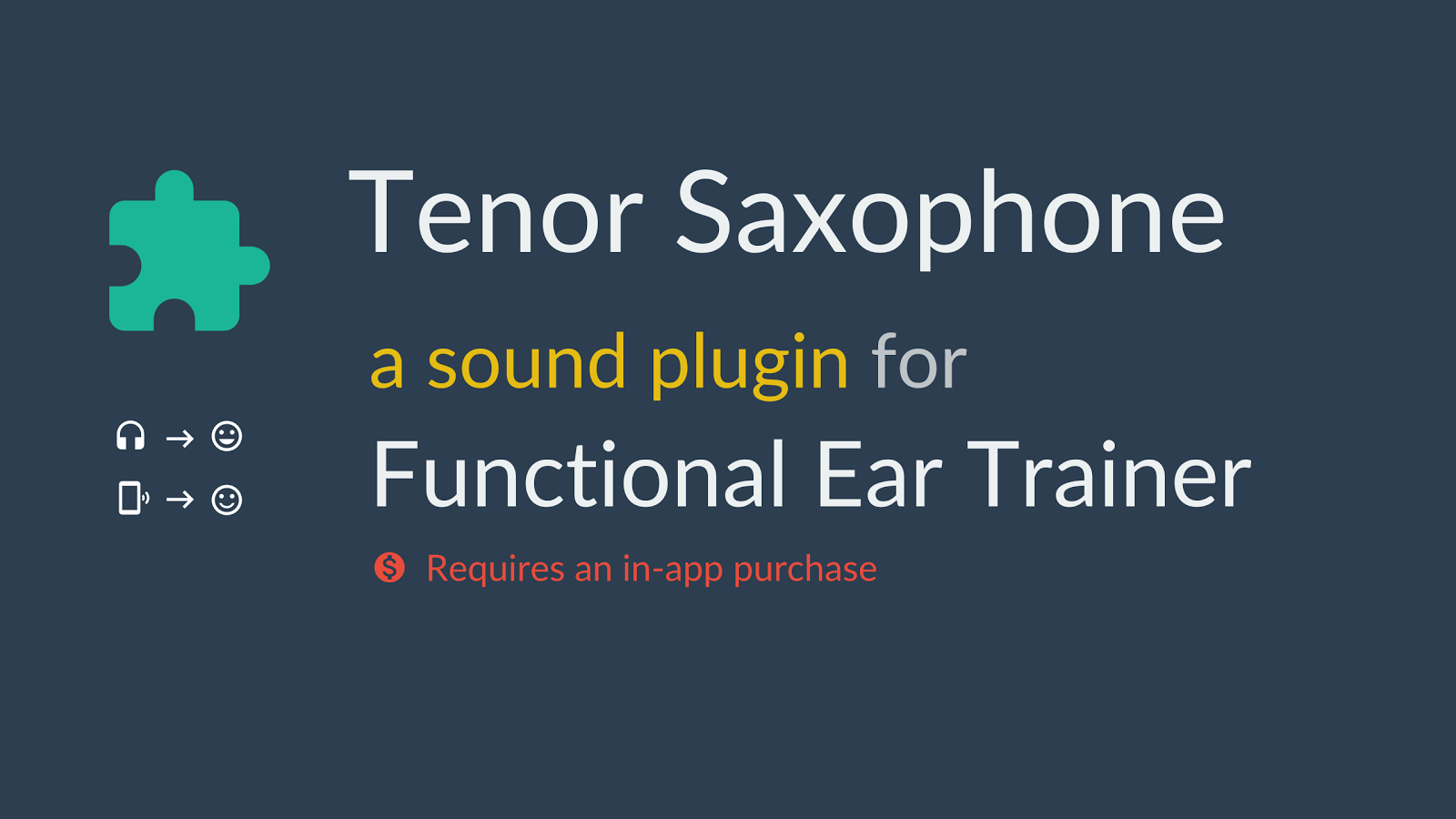Tenor Saxophone *Plugin*- screenshot