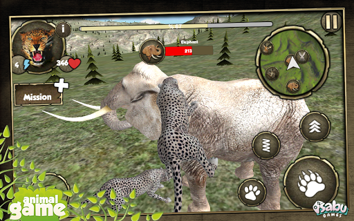 Wild Leopar Simulation