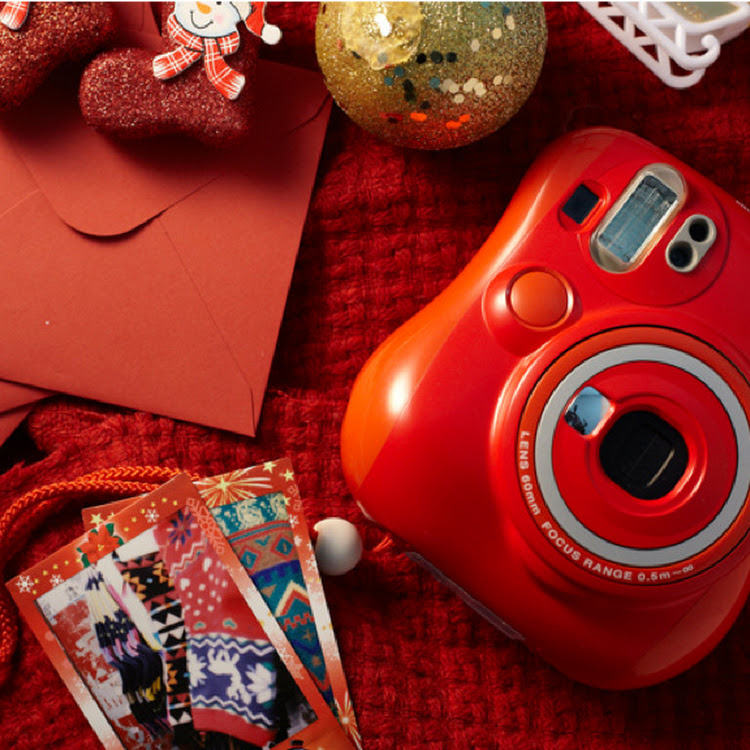 Instax Camera - Instax Mini 25 [Red Edition] by My Pocket Net Sdn Bhd