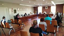 Pleno del Ayuntamiento de Huércal de Almería.