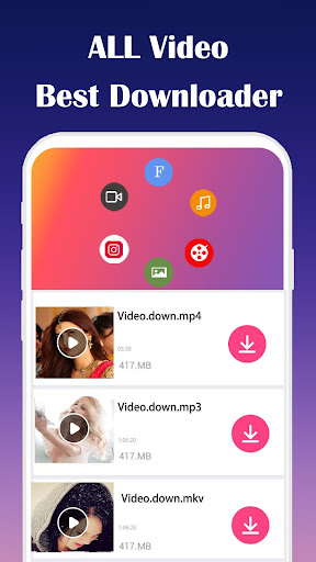 All Video Downloader 3.0 screenshots 1