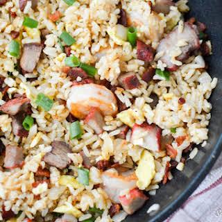 Hawaiian Island Style Fried Rice.