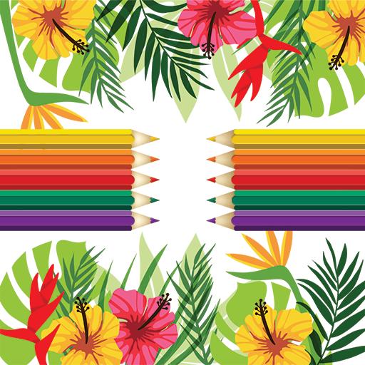 Adult Coloring: Flowers 休閒 App LOGO-硬是要APP