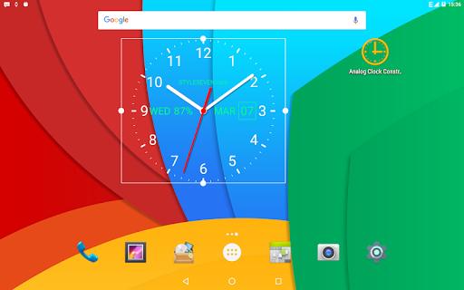 Analog Clock Live Wallpaper-7 screenshot 8