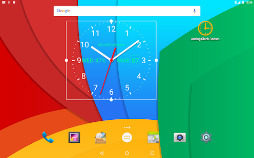 Analog Clock Live Wallpaper-7 Screenshot