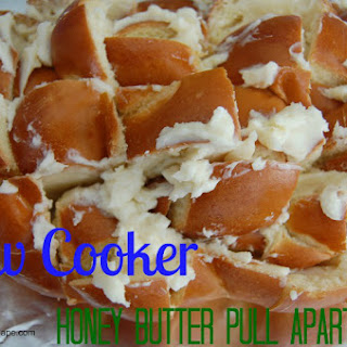 Slow Cooker Honey Butter Pull Apart Bread Recipe