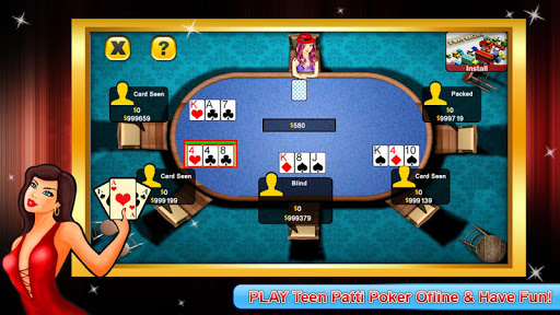 Teen Patti poker offline 1.0.6 2