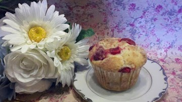 Strawberry Cheesecake Muffins Recipe