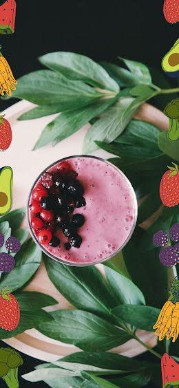 Fruit Smoothie - Snapchat Geofilter item