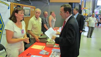 Photo: Visite du sous-préfet de Brive