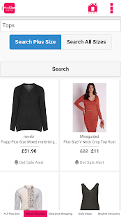 plus size clothing shopping - android apps on google play