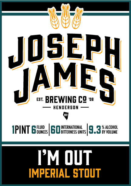 Logo of Joseph James I'M Out Imperial Stout