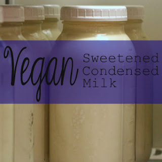 Vegan Sweetened Condensed Milk.
