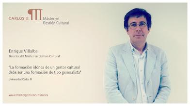Photo: Enrique Villalba - Director del Máster en Gestión Cultural de la Universidad Carlos III de Madrid @Enriquevillalba